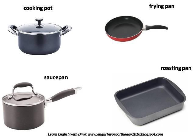 Learning english at duques de n jera house and furniture for Kitchen utensils vocabulary