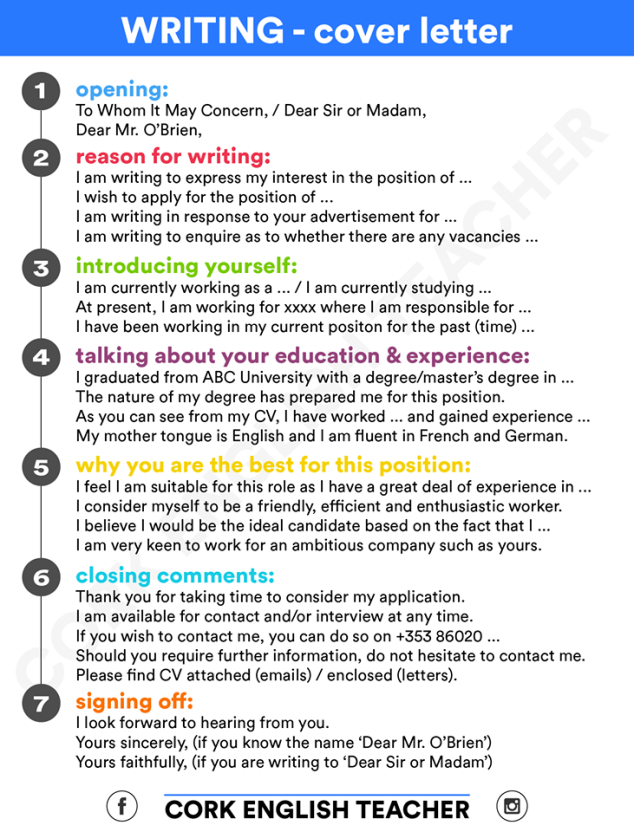 Job application essay writing